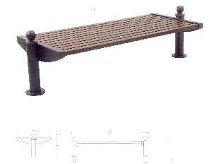 Panchine in ghisa sferoidale for Arredo urbano in legno